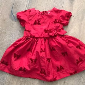 Joe Fresh Baby Red Dress